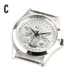 時計文字盤C